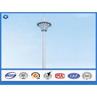Buy cheap Hot Dip Galvanized Monopole cell Tower Steel Telecommunication Pole 20 - 50m from wholesalers