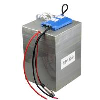 Buy cheap customized 48v40Ah 16s2p LiFePO4 Battery pack for electric vehicle with BMS and 10A charger from wholesalers