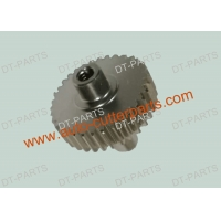 Buy cheap Round Cutter Parts Shaft & Pulley Gt2 2mm , Ss 98555002 Used To Gerber Paragon VX LX product