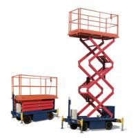 One Man Operated Mobile Aerial Work Platform 1.8 * 1 M Platform Size For Cleaning
