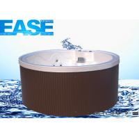 Buy cheap Acrylic Mini Round Massage Bathtub Thermostat System Outdoor Spa wirth 4-6 Seats product