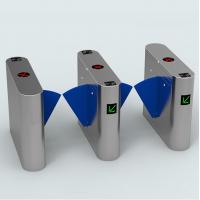 50w Indoor Outdoor Turnstile Web Based IP Biometric Acess Automated Security