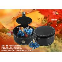 Buy cheap China factory wholesale square and round PU leather candy boxes for promotion from wholesalers
