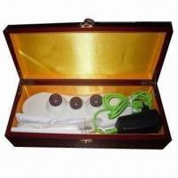 Buy cheap Vibrating Moxibustion Hand Massager with LCD Screen Control product