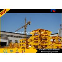 Cheap Building Hydraulic Tower Crane Jib Length 70M , Outrigger Cat Head Tower Crane Climbing wholesale