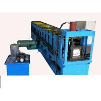 Buy cheap 0.4 - 0.6mm forming thickness gutter pipe roll forming machine product