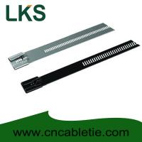 Buy cheap PVC coated Ladder Type Stainless Steel Cable Ties product