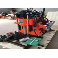 Buy cheap 150m Depth Rotary Water Borehole Drilling Machine With Pump For Small Rock 2M/Min product