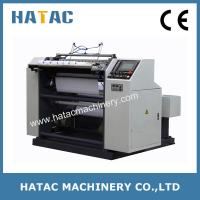 Buy cheap Automatic Tucking Receipt Paper Slitting Machinery,NCR Paper Slitter and Rewinder Machine product