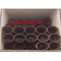 Buy cheap API 5L X52 X70 Spiral Welded Steel Pipe Double Submerged Arc Welding from wholesalers