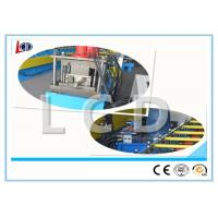 Seamless Gutter Making Equipment , Metal Roll Forming Machine 14 Groups Roller Stations