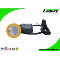 Buy cheap 15000 Lux High Beam Mining Cap Lamp Miners Headlamp , Explosion Proof IP68 product