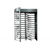 Buy cheap Stainless Steel Full Height Turnstile Automatic Security Tri-Channnel Turnstile Gate product