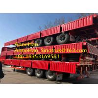 Buy cheap 40 Feet Light Self Weight Cargo Semi Trailer Trucks Used In Logistic Industry from wholesalers
