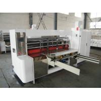 Buy cheap Corrugated Carton Die Cutting Machine Fully Automatic Hydraulic Combination Control product