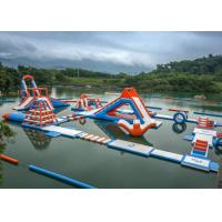 Buy cheap 0.6 - 0.9mm PVC Inflatable Floating Water Park With Printing Logo product