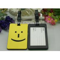 Buy cheap DIY luggage tag custom soft rubber travel luggage tag manufacture from wholesalers