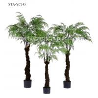 Buy cheap Tropical Artificial Outdoor Ferns Palm Tree Environmental Customized Size product