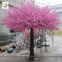 Buy cheap UVG 10 foot pink peach blossom artificial trees indoor for cheap wedding decorations CHR160 from wholesalers