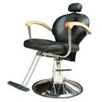Buy cheap Professional Reclining Salon Barber Chair Classic Style For Hair Shop , Dark Brown product