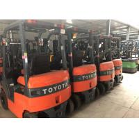 Buy cheap Electric Used Forklift Trucks Battery Power 3m - 6m Lifting Height Good Running Condition product