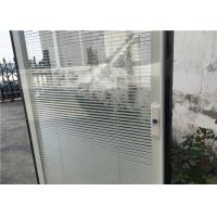 Buy cheap Horizontal Pattern Blinds Between Glass , Aluminium Blinds For Door Window product