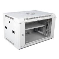 Buy cheap Wall Mount Locking Server Small Network Cabinet Mobile Server Rack In White product