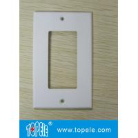 Buy cheap One Gang /Two Gang Plastic Decorative Duplex GFCI Receptacles Wallplate from wholesalers