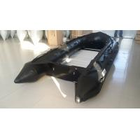 Buy cheap 8 Person Black Long Military Inflatable Speed Boat For Rescue from wholesalers