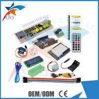 China UNO R3 /1602 LCD Servo Motor Dot Matrix Breadboard LED starter kit for Arduino on sale