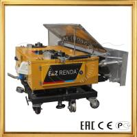 Remote control Automatic Mortar Rendering Machine Cement Plastering Work
