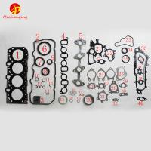 Cheap For TOYOTA HIACE HILUX Pickup 2KD 2KD-FTV METAL Automotive Spare Parts Engine Parts Full Set Engine Gasket 04111-30030 wholesale