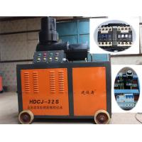 Hydraulic Oil Automatic Rebar Coupler Machine , Double Cylinder Rebar Upsetting Machine