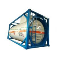 ISO Liquid Chlorine Tank Containers 20FT 21, 670 Liters (27Ton) Class 8 Cl2 UN1791 Hydro Test Pressure 1.95MPa