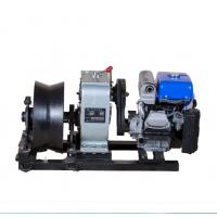 Buy cheap 5 Ton Threading Machine Cable Winch Puller For Power Construction product