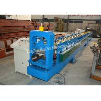 Buy cheap Rain water System Gutter Roll Forming Machine Making Semi-circle Shape DX51 product