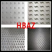 Buy cheap oval perforated metal meshes/perforated from wholesalers