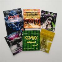 China Herbal Incense Small Plastic Pouches Edible Gummies Bears Frogies Candies Bag on sale