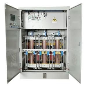 Buy cheap SBW-F-2500KVA 50-60 Hz AC Three Phase Full Auto Servo Motor Type Voltage Regulator product