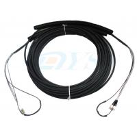 Buy cheap Pulling Eye Pre-terminated Optical Fiber Patch Cord , Multimode Fiber Patch Cable product