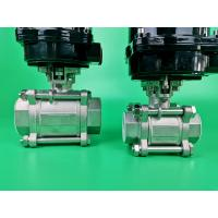 China Carbon Steel Electric Ball Valve For Water , Sea Water , Sewage , Oil on sale