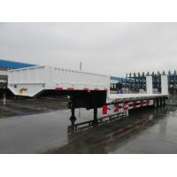 Buy cheap 5 axles low bed trailer 150 ton Front Loading lowbed trailer for sale | CIMC TRAILERS product