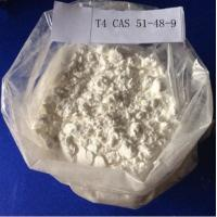Buy cheap Levothyroxine L-Thyroxine / T4 Raw Steroid Powder CAS 51-48-9 for Fat Weight Loss product
