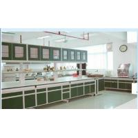 Quality Science Wood Steel Laboratory Tables Medical Lab Work Bench With Drawers for sale