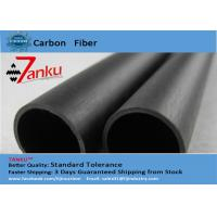 Buy cheap High End 3k Matte Carbon Fiber Pipe / Tubing For FPV / Cell Phones product