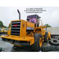 Buy cheap 5000kg Rated Load Used Wheel Loaders Payloader 870 Close Cab Used Loader product