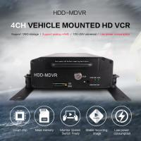 Buy cheap Bus HDD Mobile DVR GPS 3G WIFI 4CH PTZ Control With Smart CMS Software product