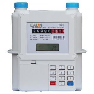 Buy cheap Aluminum Material Smart STS Keypad Meter , Prepay Gas Meter Low Credit Warning product