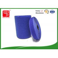 Buy cheap Blue hook and loop tape customized adhesive backed hook and loop tape 100% nylon material product