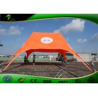 Buy cheap Star Shade Tent / Professional Large Sun Shelter Star Shaped Tent With Logo Pritintg For Exhibition product